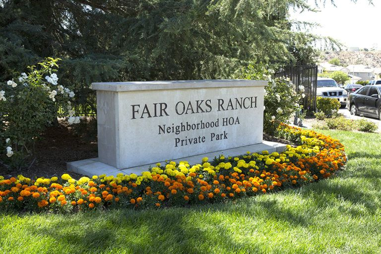 The Fair Oaks Ranch won first place in the category of Large HOA Maintenance.