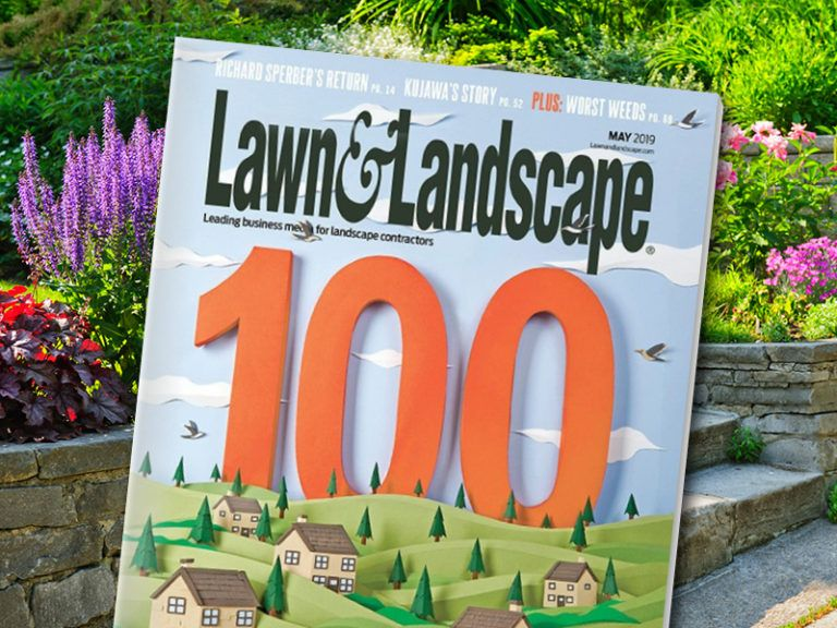 Growing Landscape Company Among Top 100 in Nation